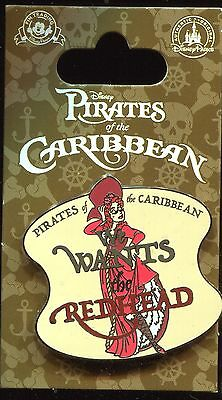 Pirates of the Caribbean We Wants the Redhead Disney Pin 108798