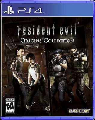 Resident Evil Origins Collection PS4 Game *VGWC!* + Warranty!