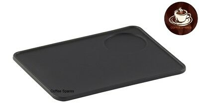 Coffee TAMPER MAT with tamper Holder 220 x 170   food grade silicone rubber