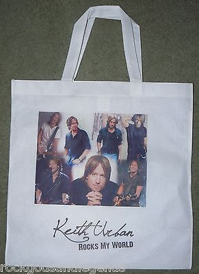 KEITH URBAN Collage Tote Bag