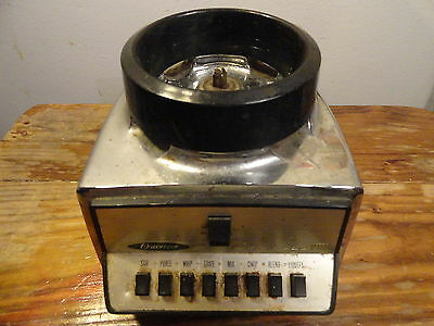 Oster Osterizer Vintage Chrome Base Classic VIII  Model 541