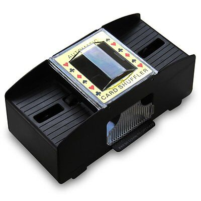 Automatic Battery Operated Poker Casino 1-2 Deck Playing Card Shuffler Sorter