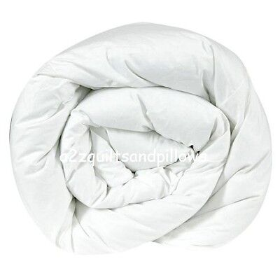 Hollowfibre Duvet Quilt Single Double King 10.5 13.5 15 tog Bedding