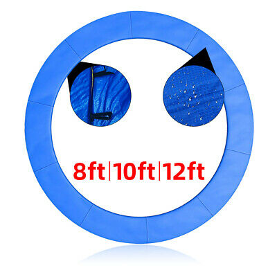 Trampoline Safety Spring Frame Pad Cover Replacement Reinforced Round 8/10/12FT
