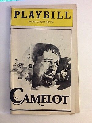 Playbill Camelot at Winter Garden Theatre November 1981! Richard Harris!