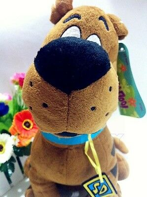 "New Cartoon 14"" 35CM Scooby-Doo Plush Stuffed Toys New with Tag Free Shipping"