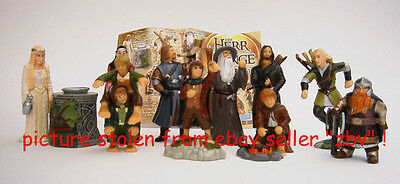 Full Set  Hobbits Lord Of The Rings Fellowship Of The Ring Fotr 11 Figures