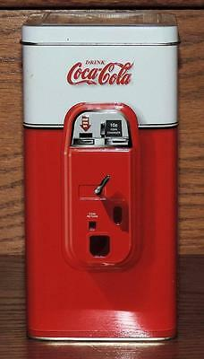 "NOS 2008 7""h DRINK COCA~COLA SODA VENDING MACHINE TIN - HAVE A COKE"