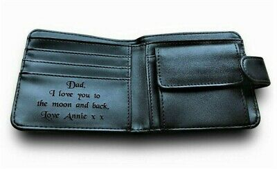 merchandise gift present RS Ford Fiesta Mk3 XR2i engraved Leather Wallet