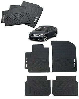 2013 2019 Toyota 86 Fr S All Weather Rubber Floor Mats Genuine