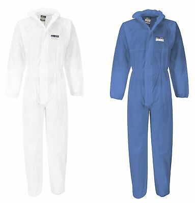 SMS Overall Preserve Protective Suit PSA Category 3 Typ 5/6 Antistatic Asbestos