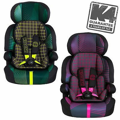 Koochi By Cosatto Motohero Group 1/2/3 Child Baby Infant Booster Car Seat