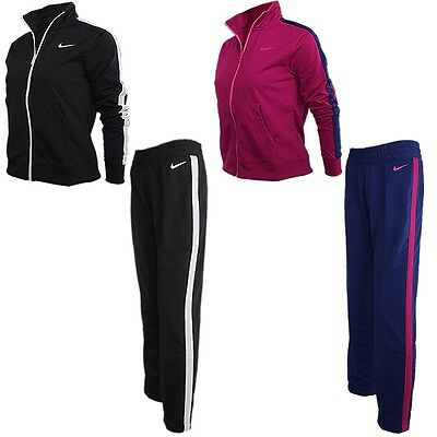 Nike Polyknit Lady women's track suit black or pink jogging suit sports suit NEW