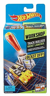 Hot Wheels Track Builder Rocket Launcher Circuit Voiture Lance Roquette BGX70