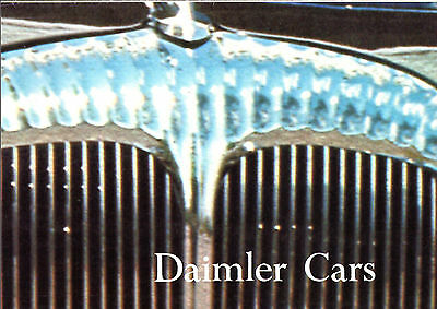 Daimler 1972-73 UK Market Foldout Brochure Sovereign Double Six VDP Limousine