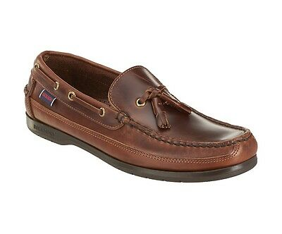 Sebago Ketch Men's Deck Boat Shoe B759450 Brown Oiled Waxy NEW