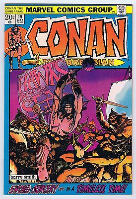 Conan The Barbarian #19 VFNM- Off White Pages 1972 HG 1st Print Marvel Comics