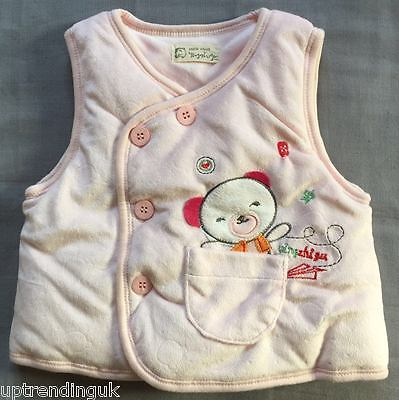 new born baby gilet warmer 6m new