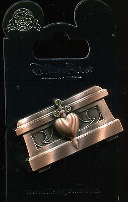Snow White Evil Queen Heart Box Jeweled Disney Pin