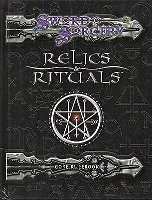 RELICS & RITUALS-CORE RULEBOOK-Fantasy RPG-Roleplaying Game-(HC)-Rarität