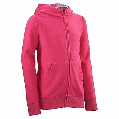 Kathmandu Lake Trail Kids Girls Top Quick Dry Hooded Fleece Jacket v2 Pink New