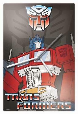 Transformers Trans Formers Optimus Prime Glass Wall Clock Man Cave Bar Christmas