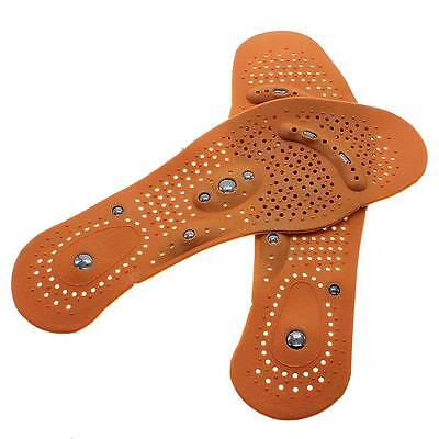 1Pair Men's Women Magnetic Therapy Bunion Foot Massager Shoe Insole Comfort Pad