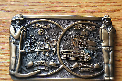 Vintage IH International Harvester Special Edition Belt Buckle - Bronze Finish
