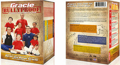 GRACIE BULLYPROOF DVD BOX SET Jiu Jitsu Gracie BJJ