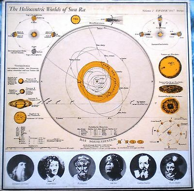 # Sun Ra THE HELIOCENTRIC WORLDS OF... BASE RECORD ITALY '75 (EX- EX) LP-C00027