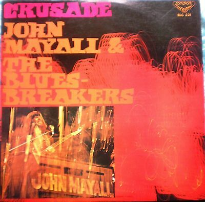# J. Mayall The Blues Breakers CRUSADE LONDON JAPAN 68 DIFFERENT COVER LP-S00592
