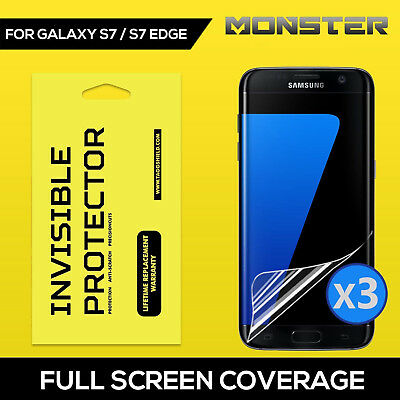 GENUINE TAGG [Full Coverage] SCREEN PROTECTOR FILM FOR Samsung Galaxy S7/S7 edge