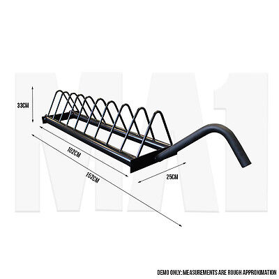 MA1 Bumper Toast Rack with Wheels