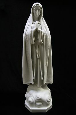 "32"" Our Lady of Fatima Virgin Mary Catholic Statue Sculpture Indoor Outdoor"