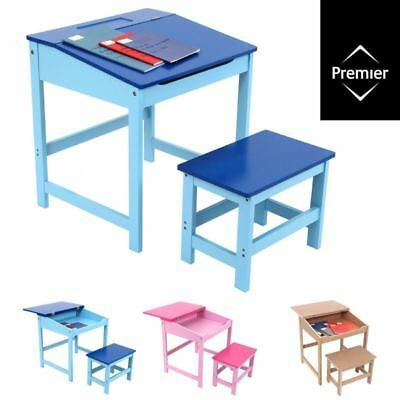 STUDY DESK AND CHAIR SET / School Drawing Homework Table Stool For Kids Children