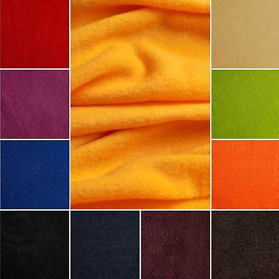 Thermo Fleece - flauschiger Microfleece in 8 Farben - Stoff