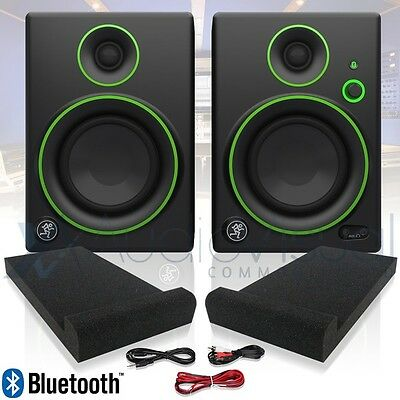 "Mackie CR5-BT 5"" 50W Active Powered DJ Studio Monitor Speakers with Bluetooth"