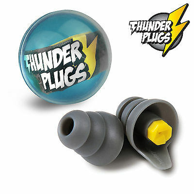 Musicians Ear Plugs THUNDERPLUGS - Hearing PROTECTION - 1 Pair - Thunder Plugs
