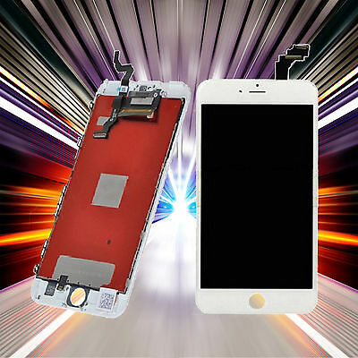 "Display LCD Für Apple IPhone 6S Plus 5.5"" Touchscreen Weiss +9H Pnzerglas+TOOL"