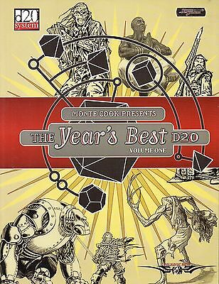 MONTE COOK PRESENTS-VOLUME ONE-THE YEAR´S BEST d20-Roleplaying Game-(SC)-rare