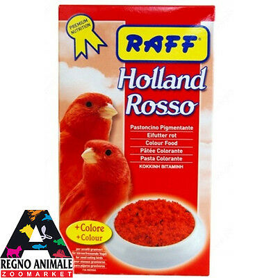 HOLLAND ROSSO alimento pastoncino canarini 1kg soft food canaries RAFF