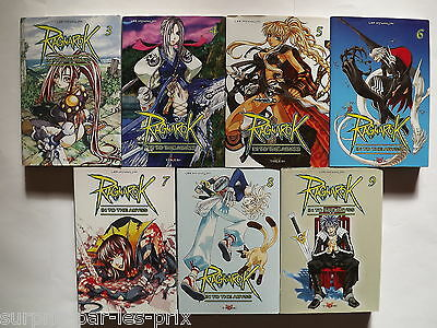RAGNAROK In to The Abyss  LOT DE 7 MANGAS Tome 3 à 9 Editions Tokébi VF
