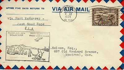 CANADA 1ers vols first flights airmail 137