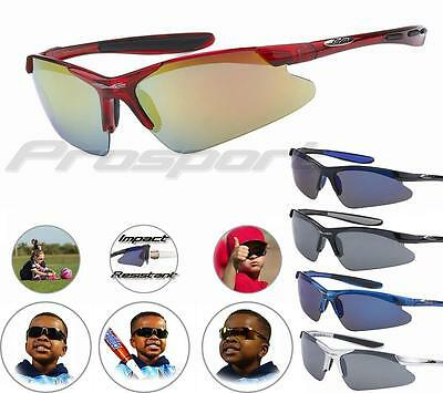 XLOOP Sunglasses Kids Children Boys Girls Sports Baseball Soccer Softball Golf