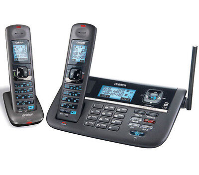 Uniden DECT4086-2 DECT 6.0 2 Line Cordless Phone w/ Digital Answering System