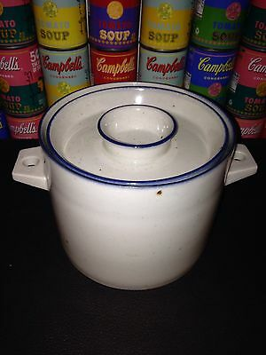 Dansk Denmark Blue Mist Covered Casserole with IHQ backstamp