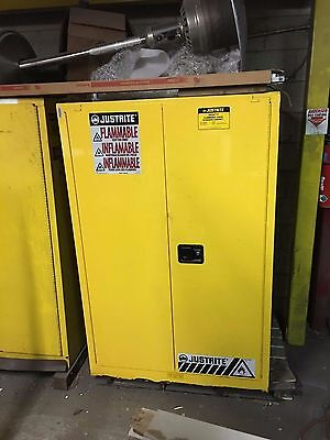 90 Gallon Flammable Cabinet Justrite Part#899020