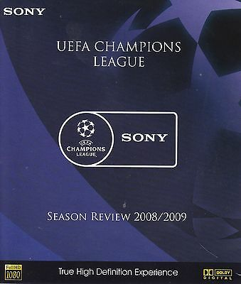 UEFA Champoins League Season Review 2008 / 2009 Blu-ray