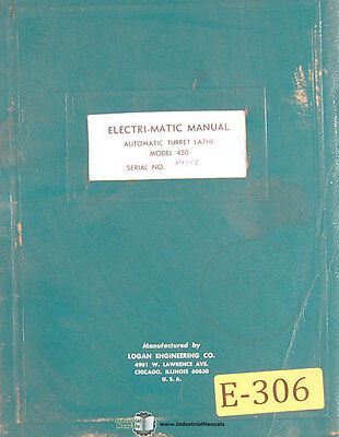 2 Parts LIst Manual 1948 Bardons /& Oliver No Geared Electric Turret Lathe