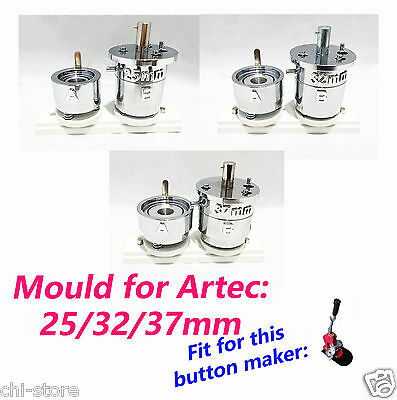 (25mm or 32mm or 37mm) Round Die Mould for Artec Badge Button Maker